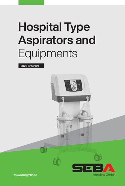 Seba Hospital Type Aspirators and Equipments Brochure