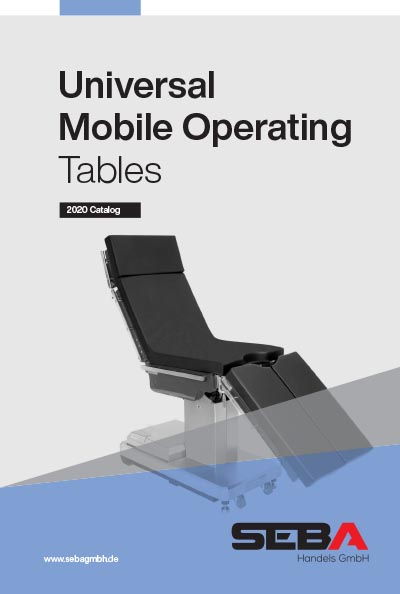 Seba Universal Mobile Operating Tables Catalog