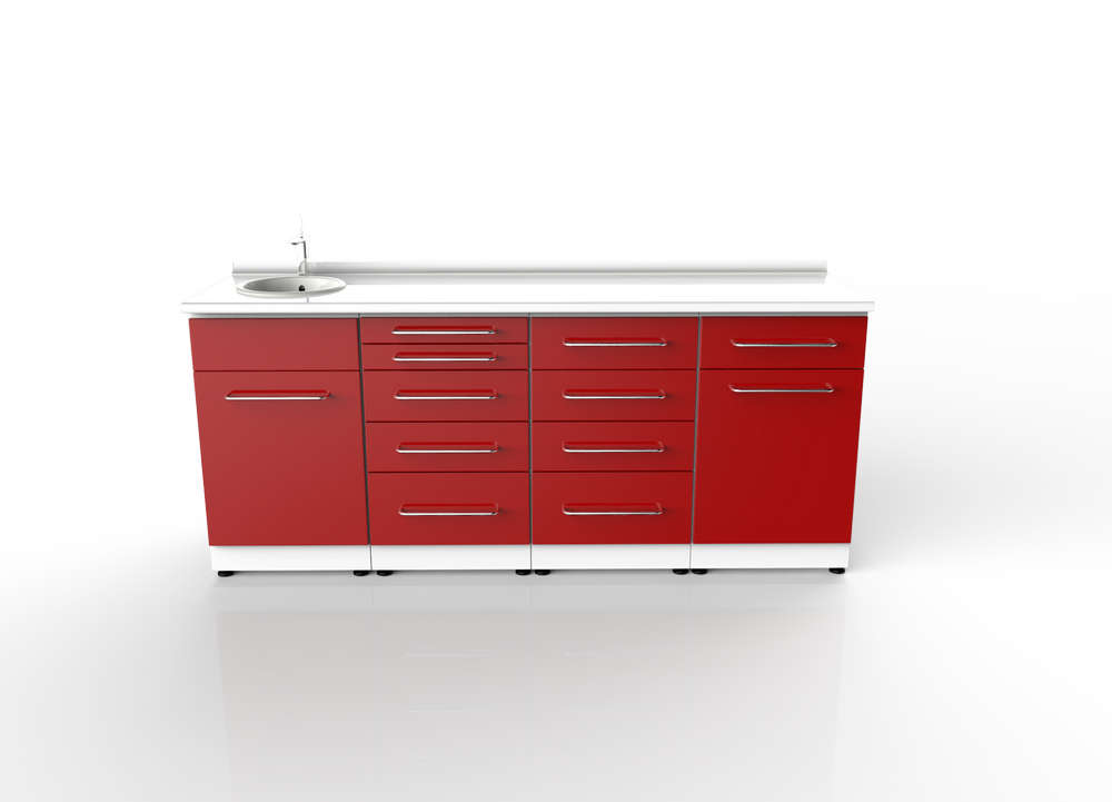 Dental Clinic Cabinets Design 013