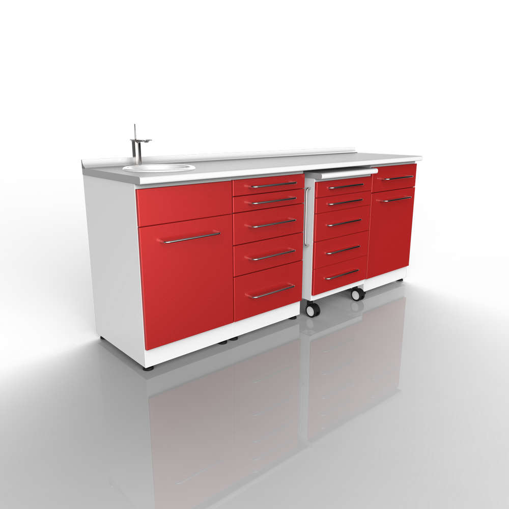 Dental Clinic Cabinets Design 014