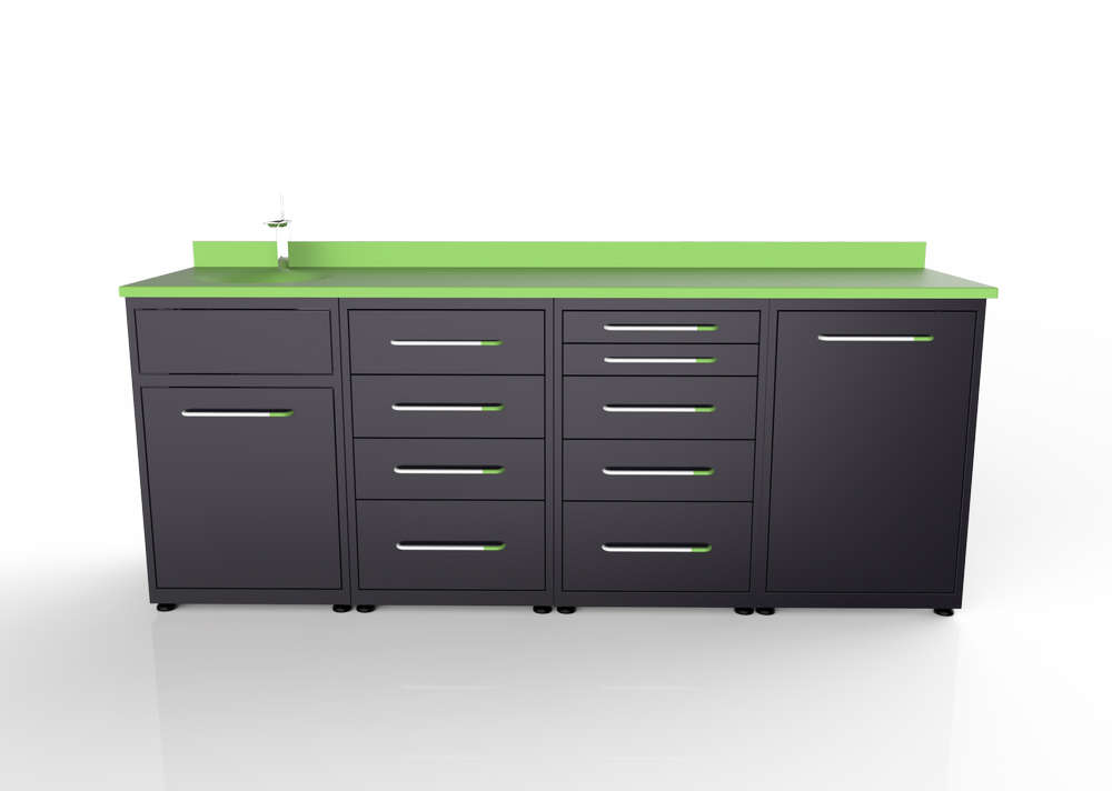 Dental Clinic Cabinets Design 017