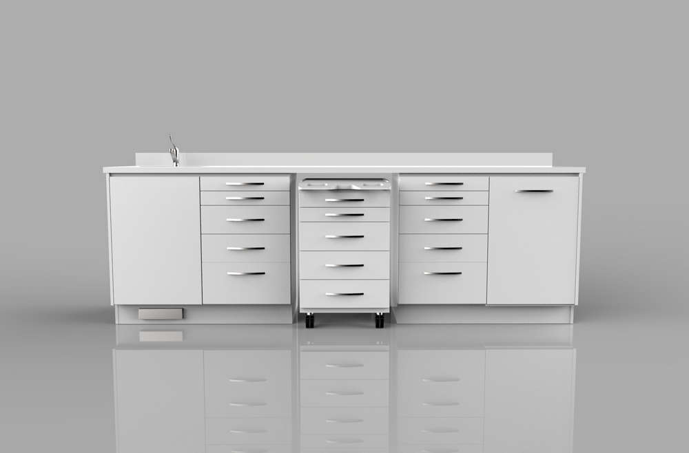 Dental Clinic Cabinets Design 021