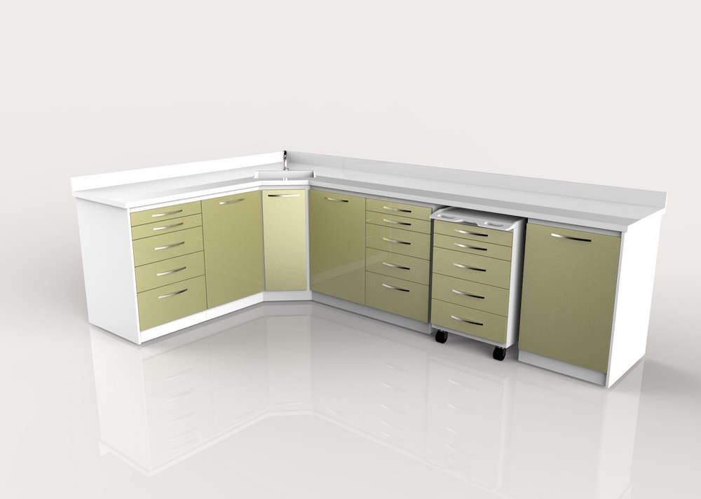 Dental Clinic Cabinets Design 022