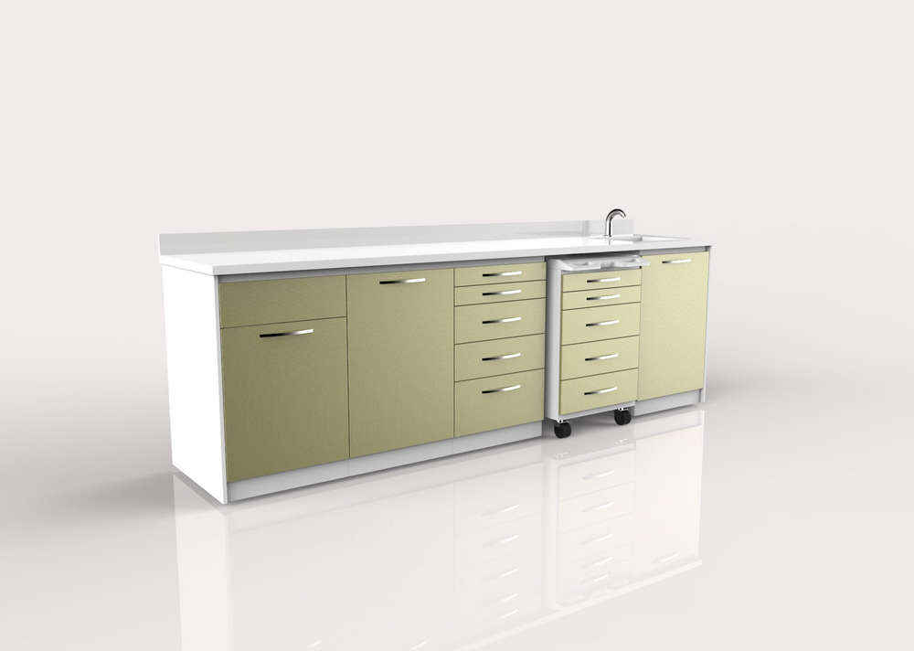 Dental Clinic Cabinets Design 023